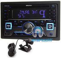 Alpine CDE-W265BT Double DIN Bluetooth In-Dash CD/AM/FM