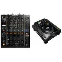 CDJ-2000-NXS Digital DJ Turntable and Mixer Bundle