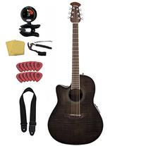 Ovation Celebrity Standard CS24P-TBBY Trans Black Flame