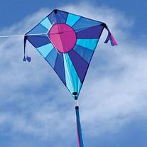 Into The Wind Celestial Moonbeam Diamond Kite