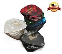 Celluloid Guitar Picks 60 Pcs - Recommended Electric,