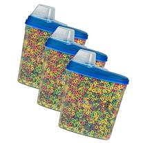 Large Cereal Keeper Food Storage Plastic Container 23.75 Cup