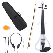 Cecilio 4/4 CEVN-4W Solid Wood Electric/Silent Violin with