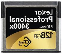Lexar Professional 3400x 128GB CFast 2.0 Card  w/Image