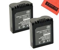 BM Premium Pack of 2 CGA-S006 Batteries for Panasonic Lumix