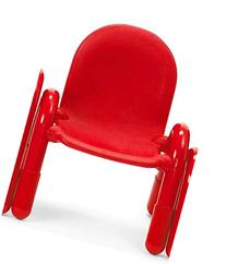 7 in. Chair in Red