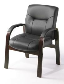 Boss Chair Executive Leather Office Guest Chair with