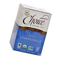 CHOICE ORGANIC TEAS Chamomile Herb Organic Tea 16 BAG