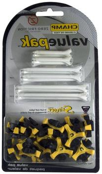 Champ Q-Lok Spikes with Zero Friction Tees