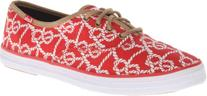 Keds Women's Champion Knot Oxford,Red,8 M US