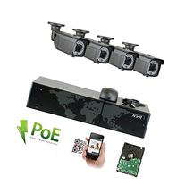 8 Channel Network NVR Security System with 4 x 5MP HD 1920p