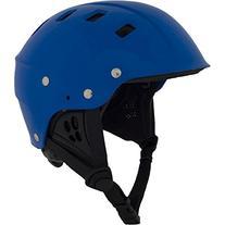 NRS Chaos Side-Cut Kayak Helmet-Blue-S