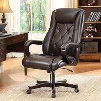 Office Star Chapman Executive Chair with Thick Padded