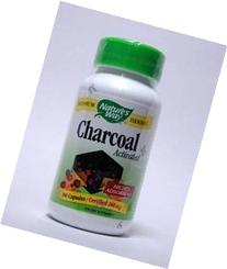 Nature's Way Charcoal Activated, 100 Capsulesules - 1Each