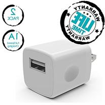 PowerJive PV-1ATC Travel Charger Adapter for iPhone 3/4/4S/5