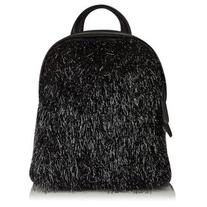 Charlie Black Tinsel Backpack by Skinnydip
