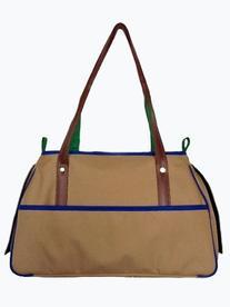 Petote Charlie Pet Carrier Bag, Khaki