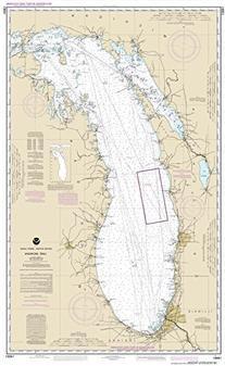NOAA Chart 14901: Lake Michigan , 28.7 X 46.7, TRADITIONAL