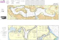 NOAA Chart 18447: Lake Washington Ship Canal and Lake