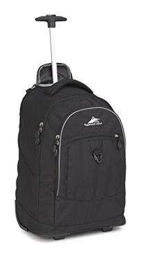 High Sierra Chaser Wheeled Backpack Backpack Black One Size
