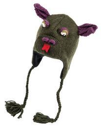 Nirvanna Designs CHDRAGON Dragon Hat with Fleece , Olive, 5