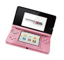 Free Shipping and Cheap !!! Nintendo 3ds Pearl Pink Handheld
