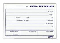 TOPS Check Request Forms, 4 x 6 Inch, 100 Sheets, 2-Pack,
