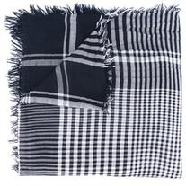 Faliero Sarti - checked scarf - women - Polyester/Modal -