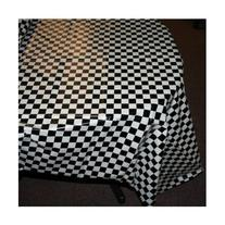 Checkered Race Table Cover - Set of 2 - Checkered Flag