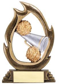 Cheerleading Trophy, Cheerleading Trophies, Resin Awards