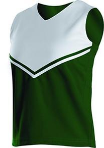 Alleson Athletic Women's V-Shell Cheerleaders Uniform Shells