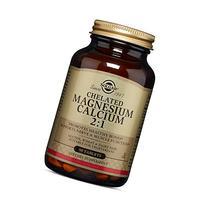 Solgar Chelated Magnesium Calcium 2:1 Tablets, 90 Count