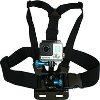 Chest Mount Harness for GoPro Cameras - Adjustable Body