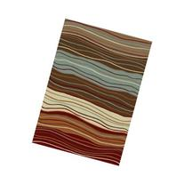 Concord Chester Waves Contemporary Rug - Multicolor