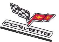 CHEVROLET CORVETTE Iron Sew On Cotton Patch Sports Cars V8