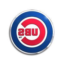 Chicago Cubs Color Auto Emblem - Die Cut