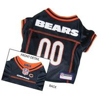 Pets First Official NFL Chicago Bears Jersey Small