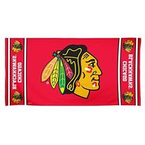 NHL Chicago Blackhawks Beach Towel, Team Color, One Size