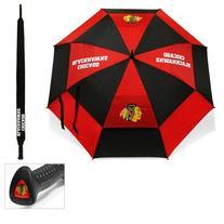Chicago Blackhawks NHL 62 inch Double Canopy Umbrella