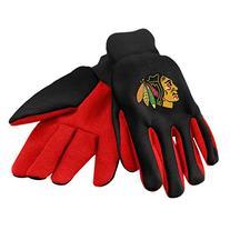Chicago Blackhawks Colored Palm Sport Utility Glove