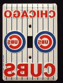 Chicago Cubs Light Switch Covers  Plates LS10023 by Tag City