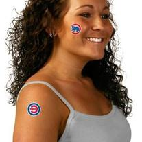 MLB Chicago Cubs Tattoo Set