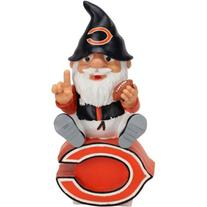 Forever Collectibles Chicago Bears Gnome On Team Logo