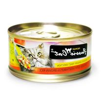 Fussie Cat Chicken & Sweet Potato Case 24 2.8oz Can