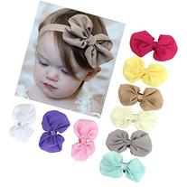 Sankuwen® 1pc Top Seller 9pcs Babys Girls Chiffon Flower