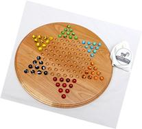 Chinese Checkers Game with Marbles