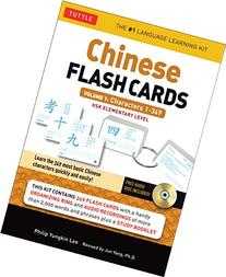 Chinese Flash Cards Kit Volume 1: HSK Levels 1 & 2