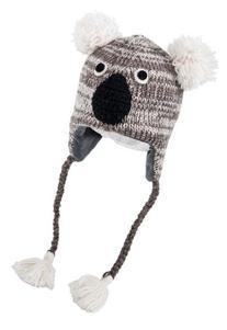 Nirvanna Designs CHKOALA Koala Hat with Fleece, Grey,