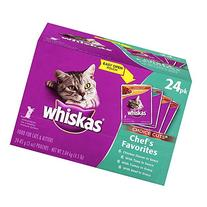 Whiskas Choice Cuts Chef'S Favorites Variety Pack Wet Cat