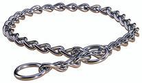 Hamilton Choke Chain Dog Collar, 14-Inch